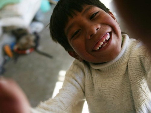 Du soleil pour les enfants handicapés de Sucre