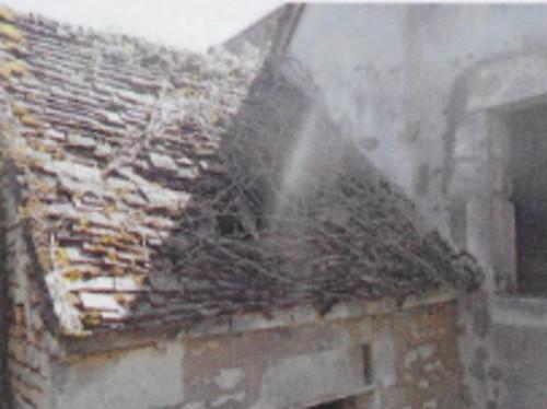 Un nouveau toit pour le presbytère de la paroisse de Thury (89520)
