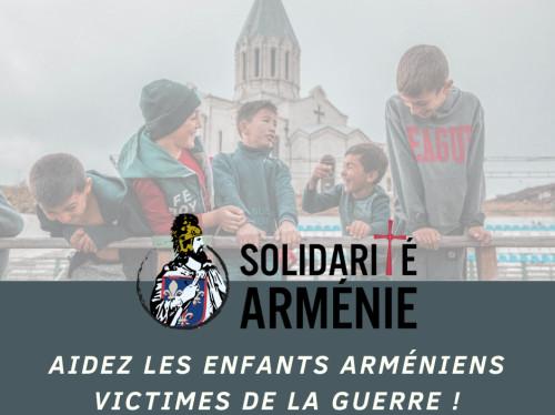 Aider les enfants arméniens victimes de la guerre