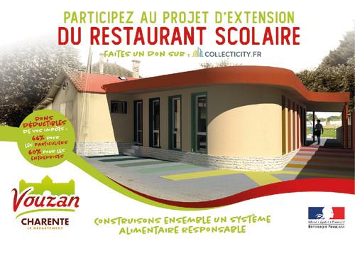 Extension du restaurant scolaire de Vouzan