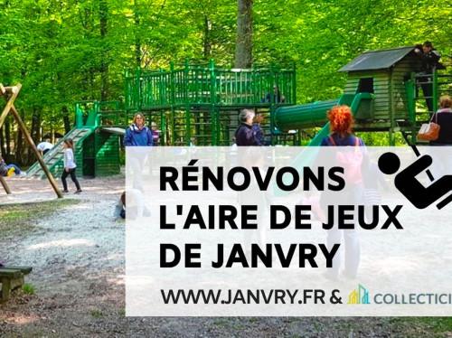 Une aire de jeux pour le Parc animalier de Janvry