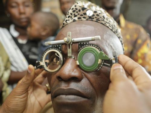 Un centre médical ophtalmologique en RDC