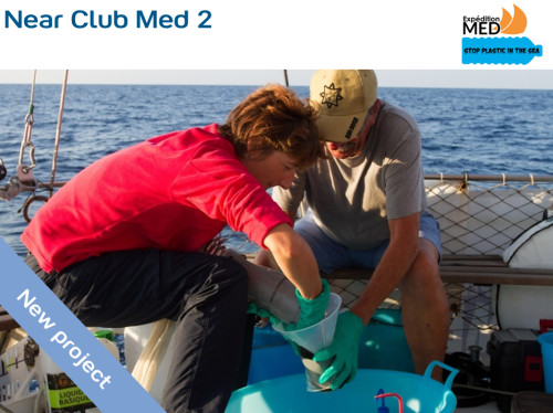 Support scientific research missions on Mediterranean Sea's pollution