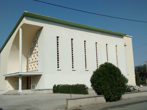 La chaufferie de l'église Saint Joseph de Montélimar