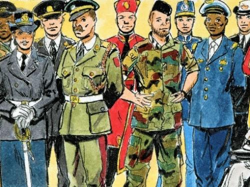 PREVENTE : BD sur le Pèlerinage Militaire International