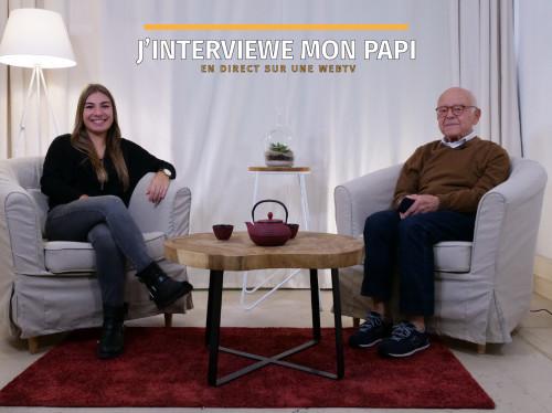 Lien intergénérationnel - Papi, Mamie, racontez-nous votre histoire
