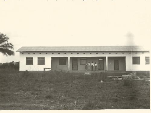 Reconstruction de la maternité de la mission protestante d'Indo (République du Congo)