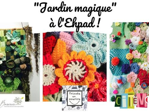 """Jardin magique"" à l'EHPAD !"
