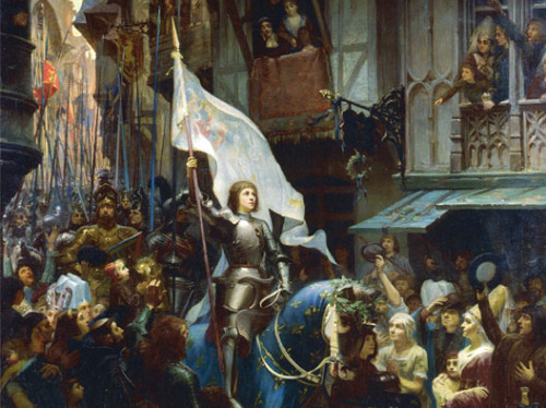 Défilé de Jeanne d'Arc dans la Ferté Milon