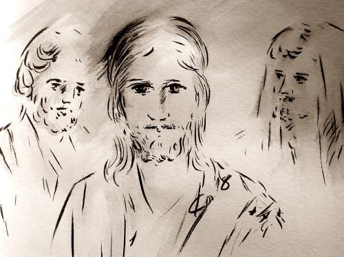 Evangile illustré par Jean-Joseph Chevalier, préfacé par Mgr Rey