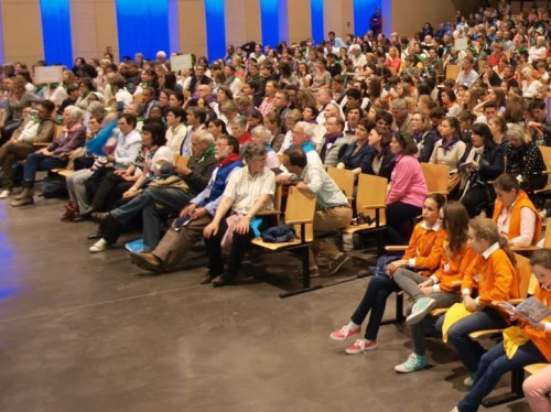 Un rassemblement à Lourdes, dans la complémentarité et la joie
