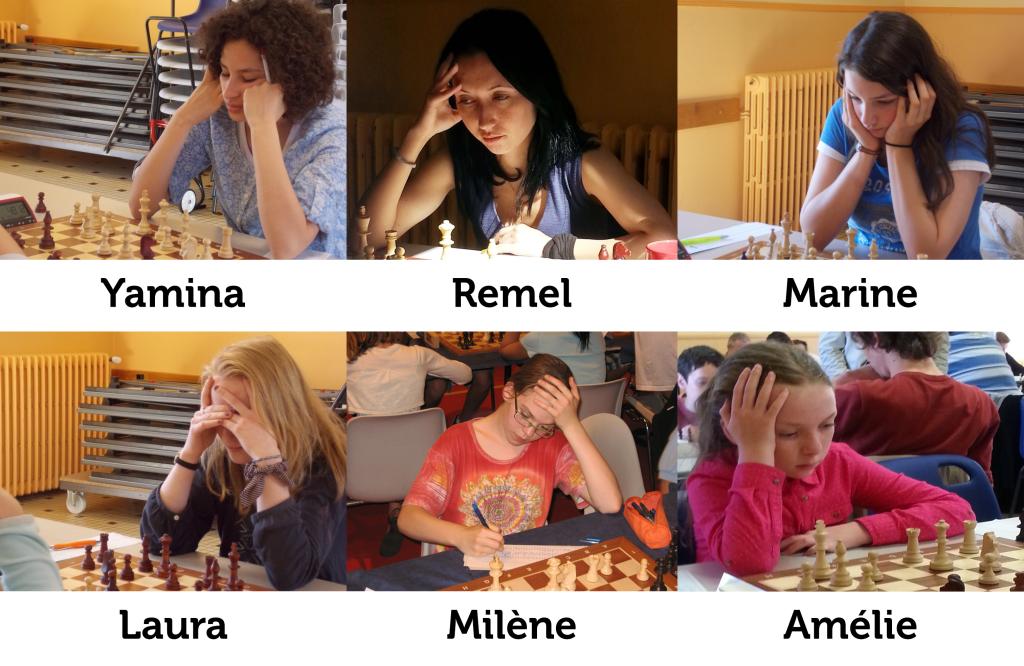 Joueuses de l'équipe de N1 Féminine