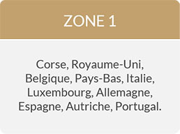 livraison zone 1
