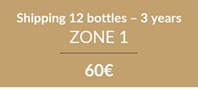 12 bottles 3 years