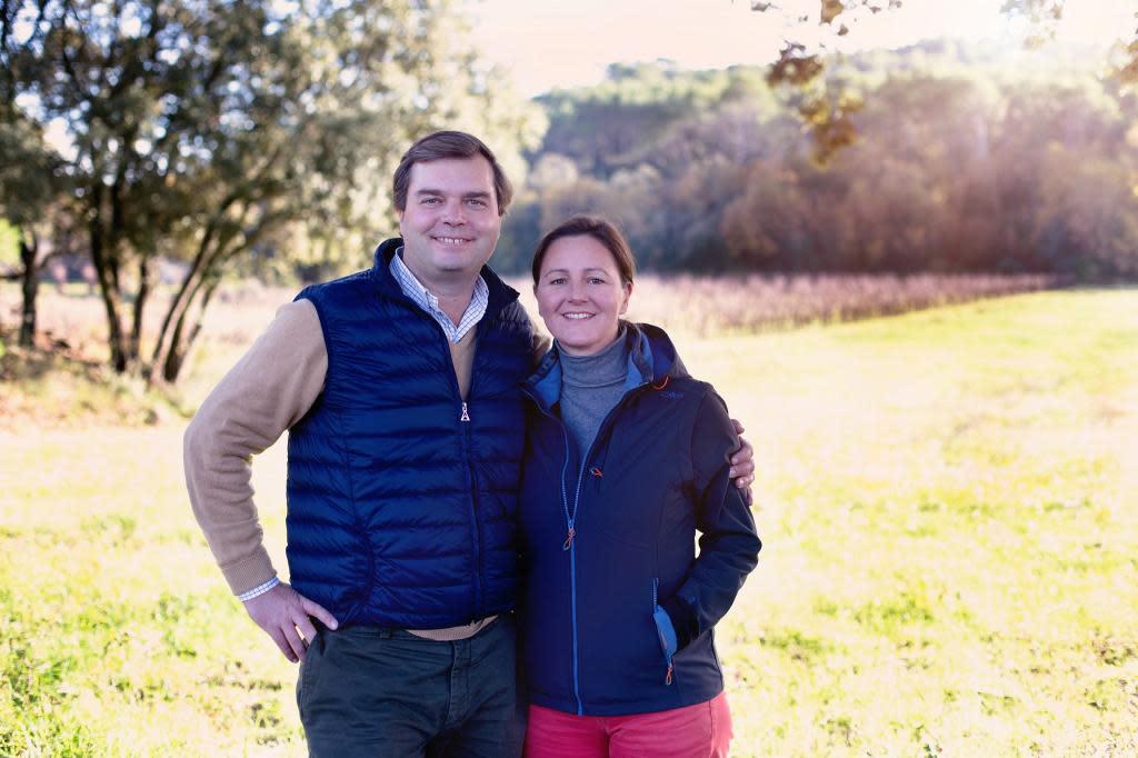 Albéric et Marie Caroline