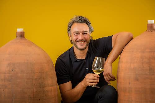 Olivier Calix, vigneron-vinificateur et propriétaire