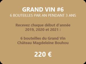 Magdeleine-Bouhou Grand Vin 6 bouteilles