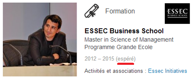 [Yassine] Master 2 Grande École ESSEC Business School