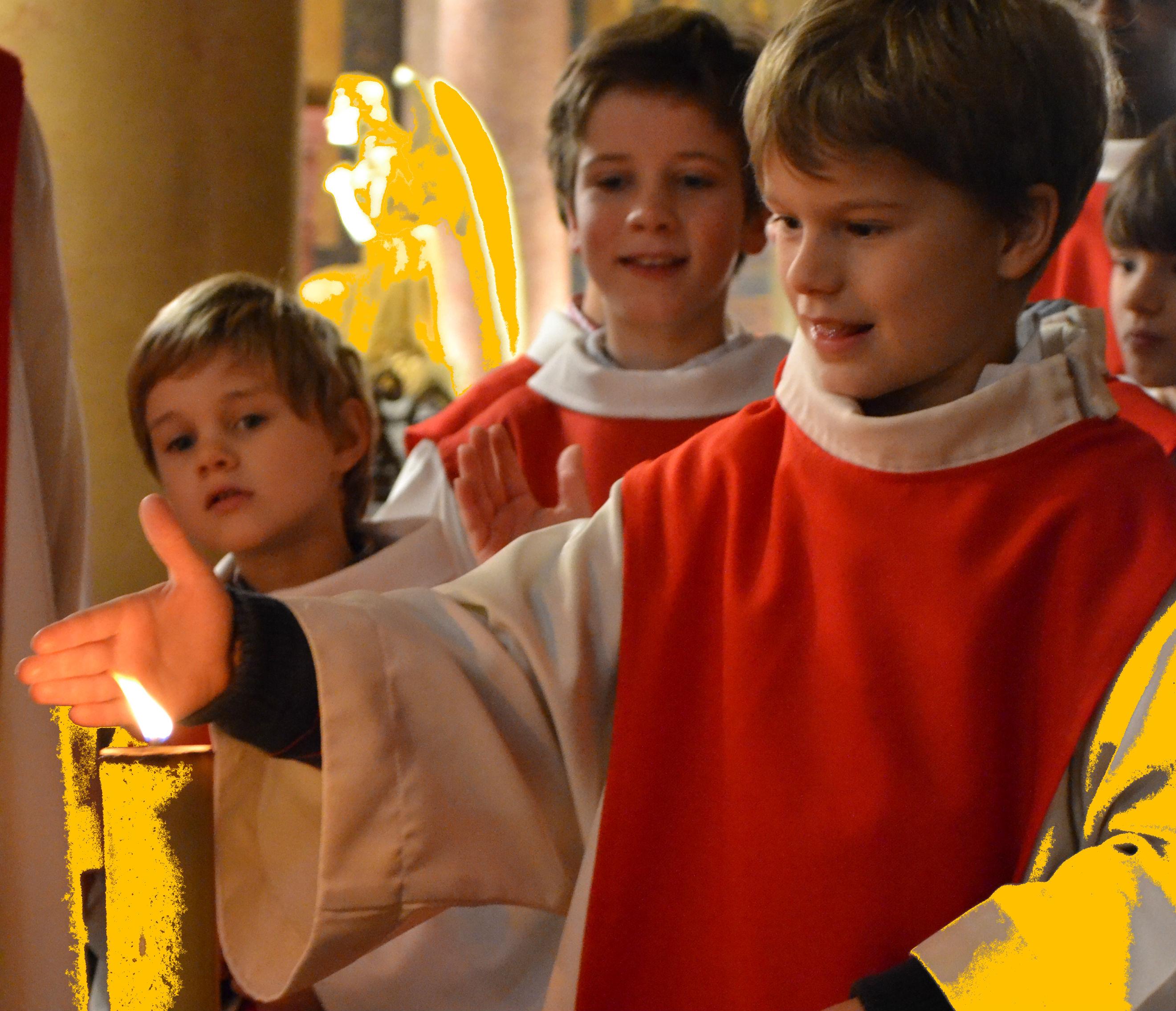 ROME Eté 2015 :  Pélerinage des servants de messe de la Cathédrale de Rennes