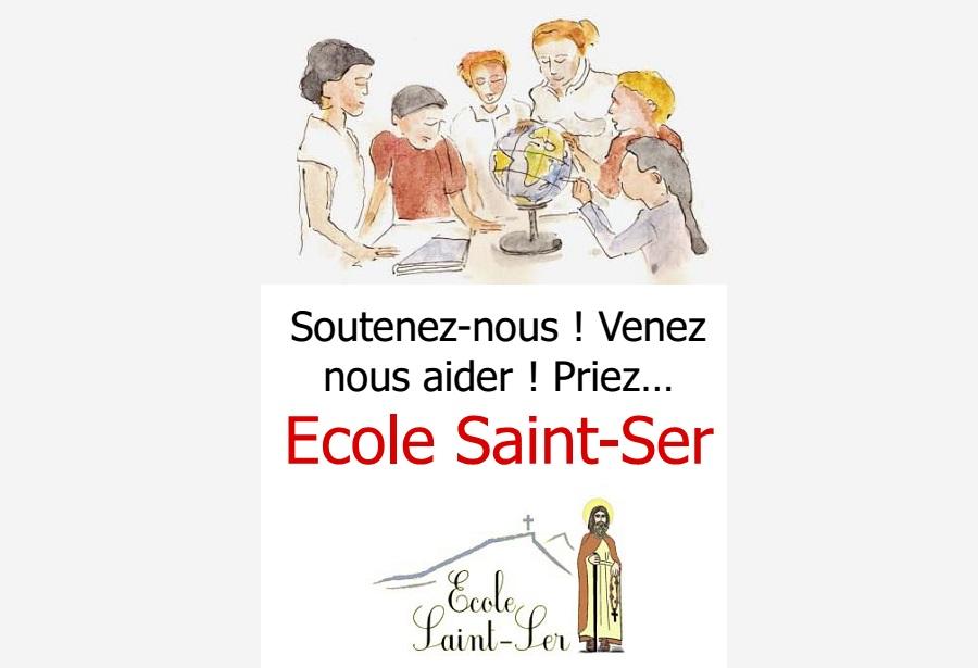 Lancement de l'Ecole Saint-Ser au Tholonet (13100)