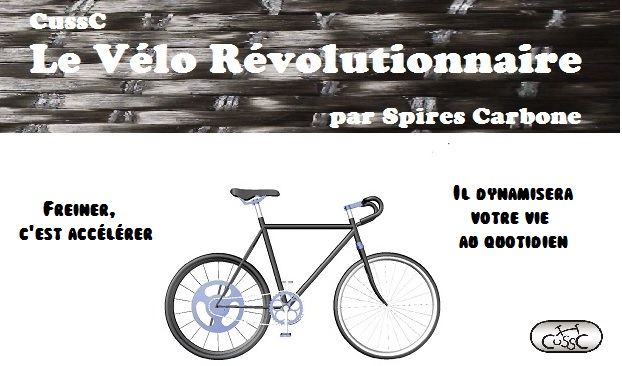 L'unique vélo à assistance au pédalage réellement écologique : le CussC