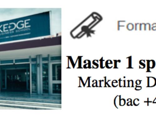 [Sabrina] Master 1 - Grande Ecole de Commerce