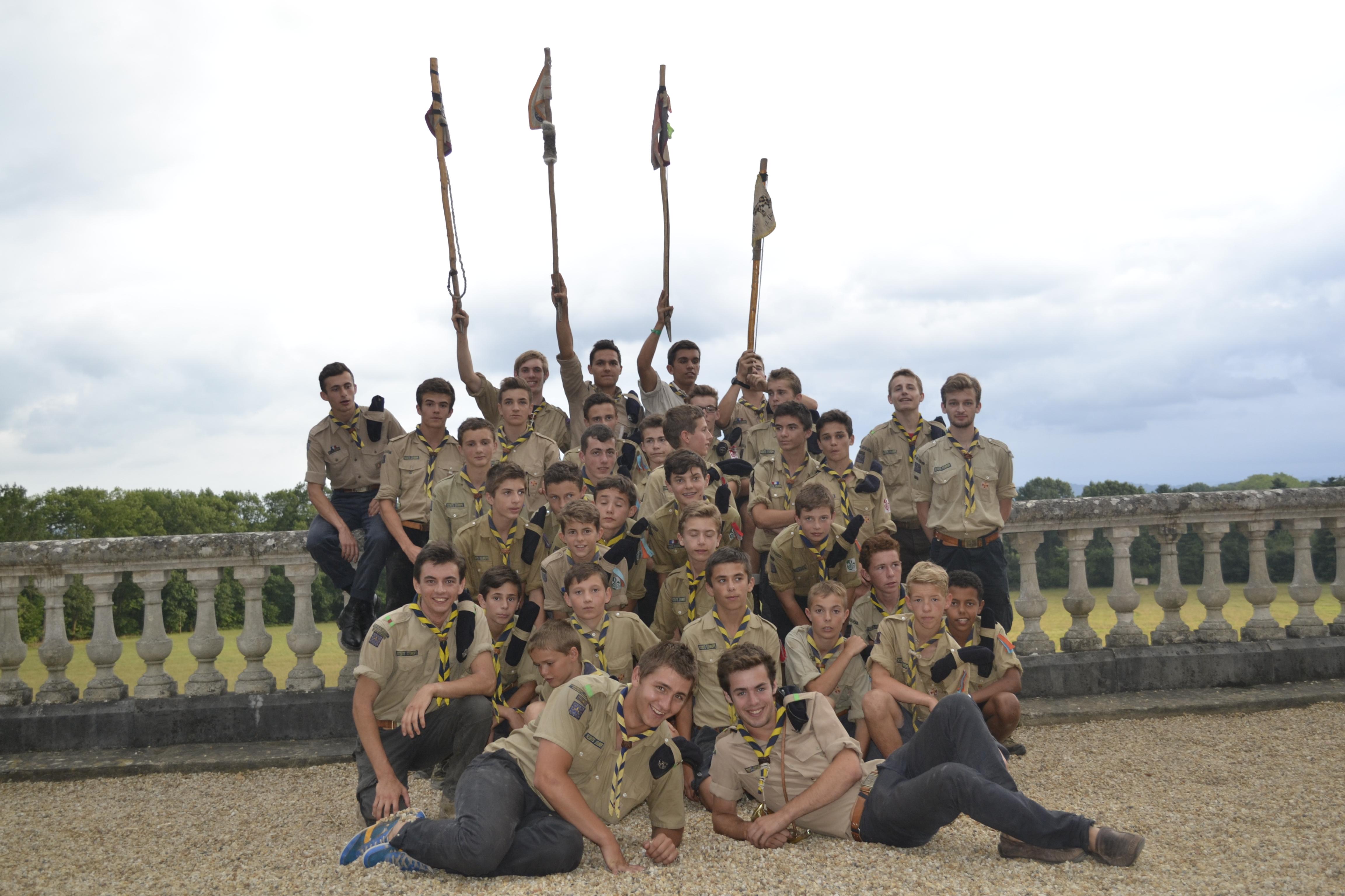 Un camp scout en Pologne pour 35 jeunes