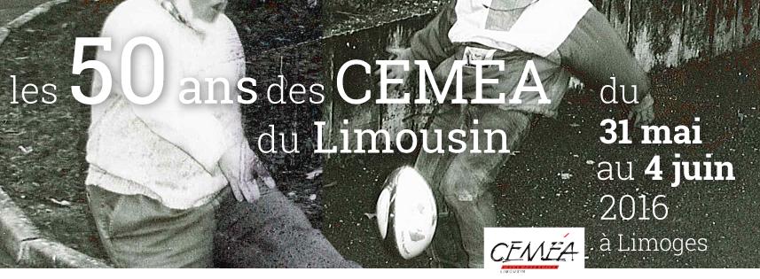 Les 50 ans des CEMÉA du Limousin
