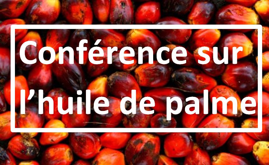 Conférence sur l'huile de palme