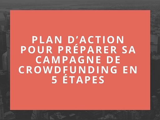 Plan d'action pour préparer sa campagne en 5 étapes