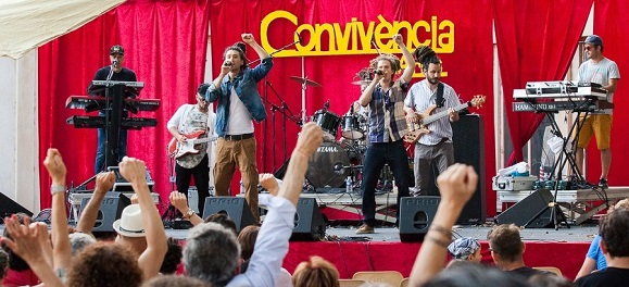 Musique du monde au festival Convivència