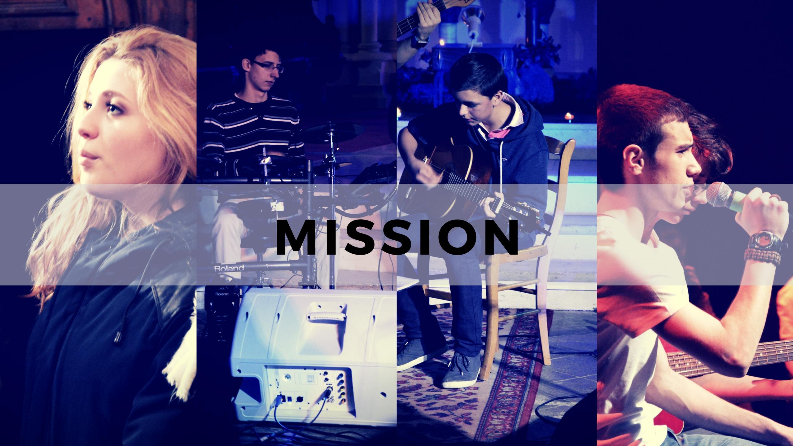 Financez le premier single du groupe MISSION !