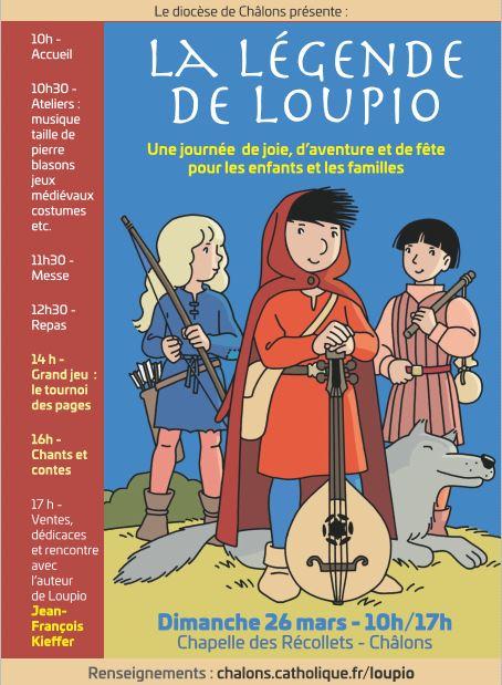 La légende de Loupio