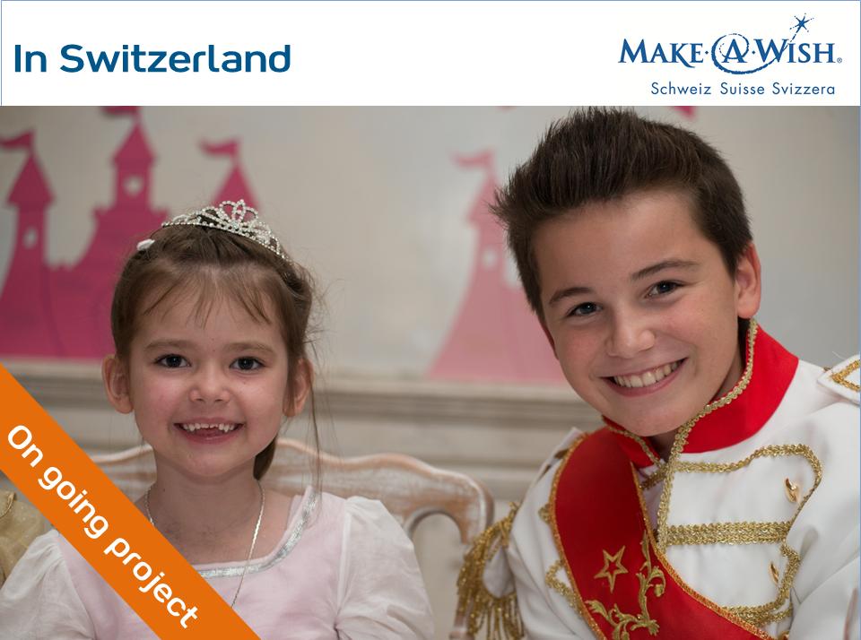 Fulfilling the wishes of ill children in Switzerland and in Liechtenstein