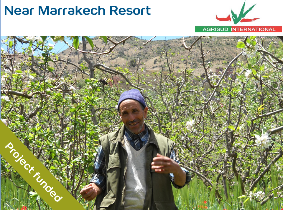 Support for small local farms in the region of Asni in Morocco