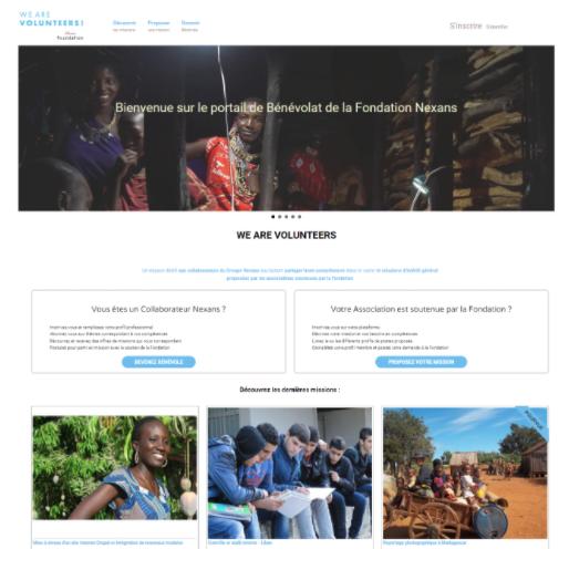 Créer une plateforme collaborative pour faciliter le développement du bénévolat, volontariat ou mécénat de compétence avec les fondations d'entreprises