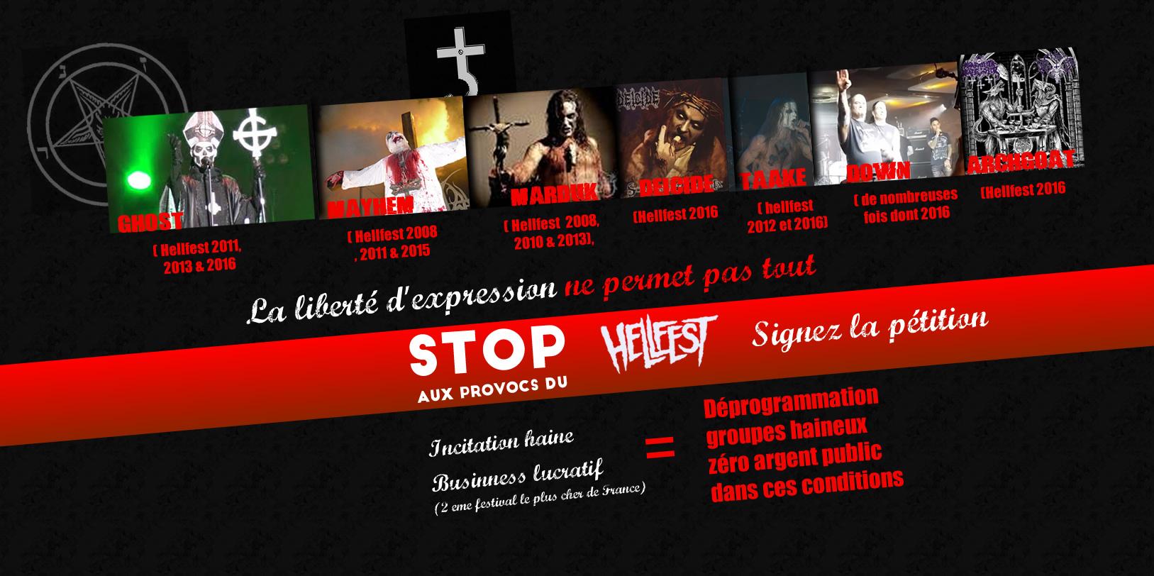 STOP HELLFEST PROVOCS