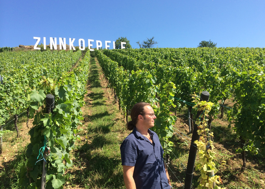 Production of a short movie on the Grand Cru Zinnkoepflé