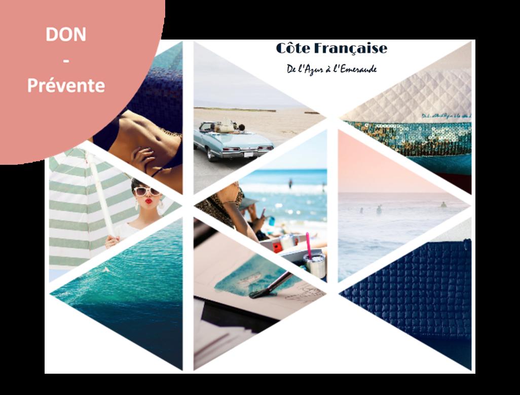 Côte Française - De l'Azur à l'Emeraude