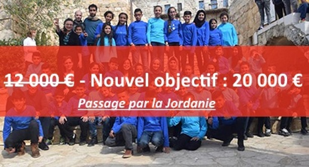 Une chorale de jeunes palestiniens en France - Nouvel Objectif : 20 000 € !!