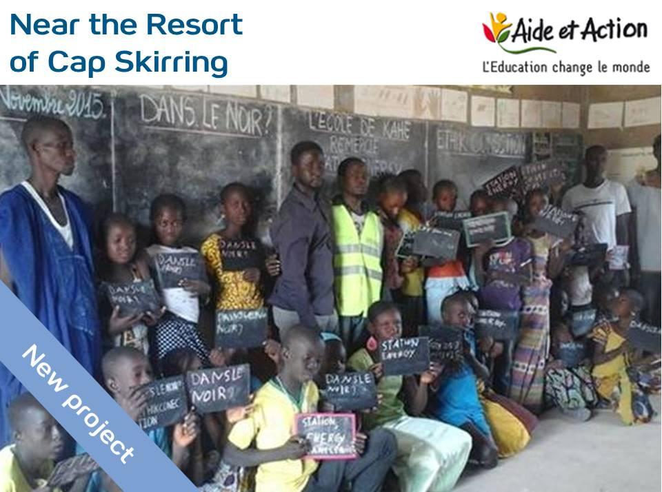 Soutien au projet « A Light for Africa » pour amener la lumière au sein des salles de classe