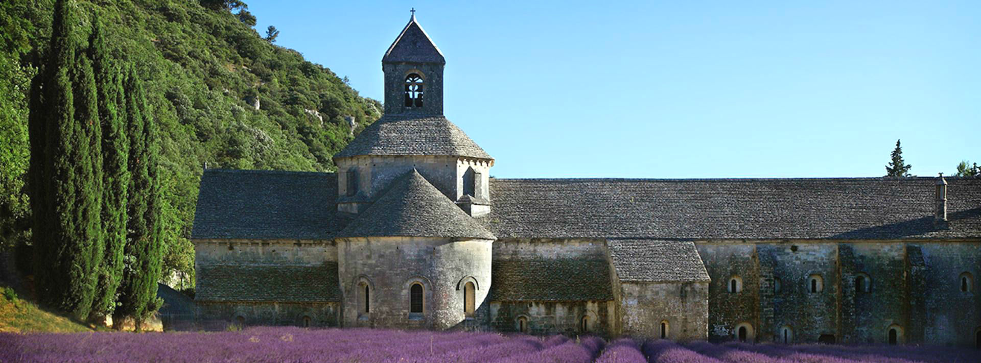 Sénanque, jeopardized abbey