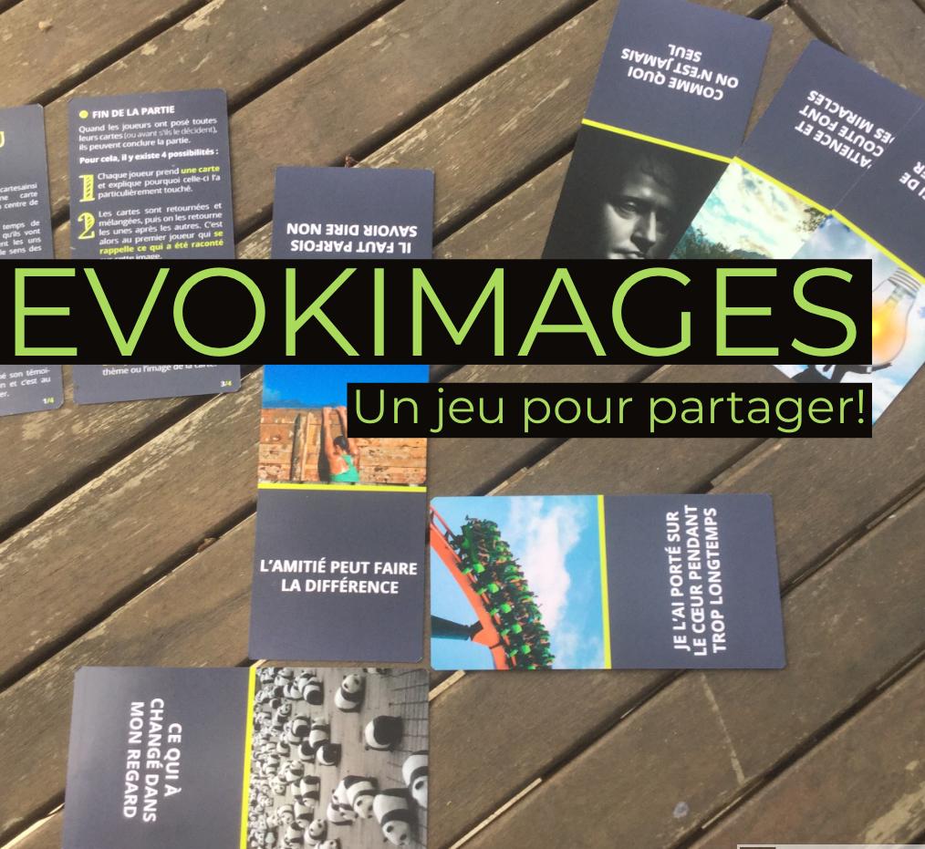 EVOKIMAGE, un jeu pour favoriser les échanges