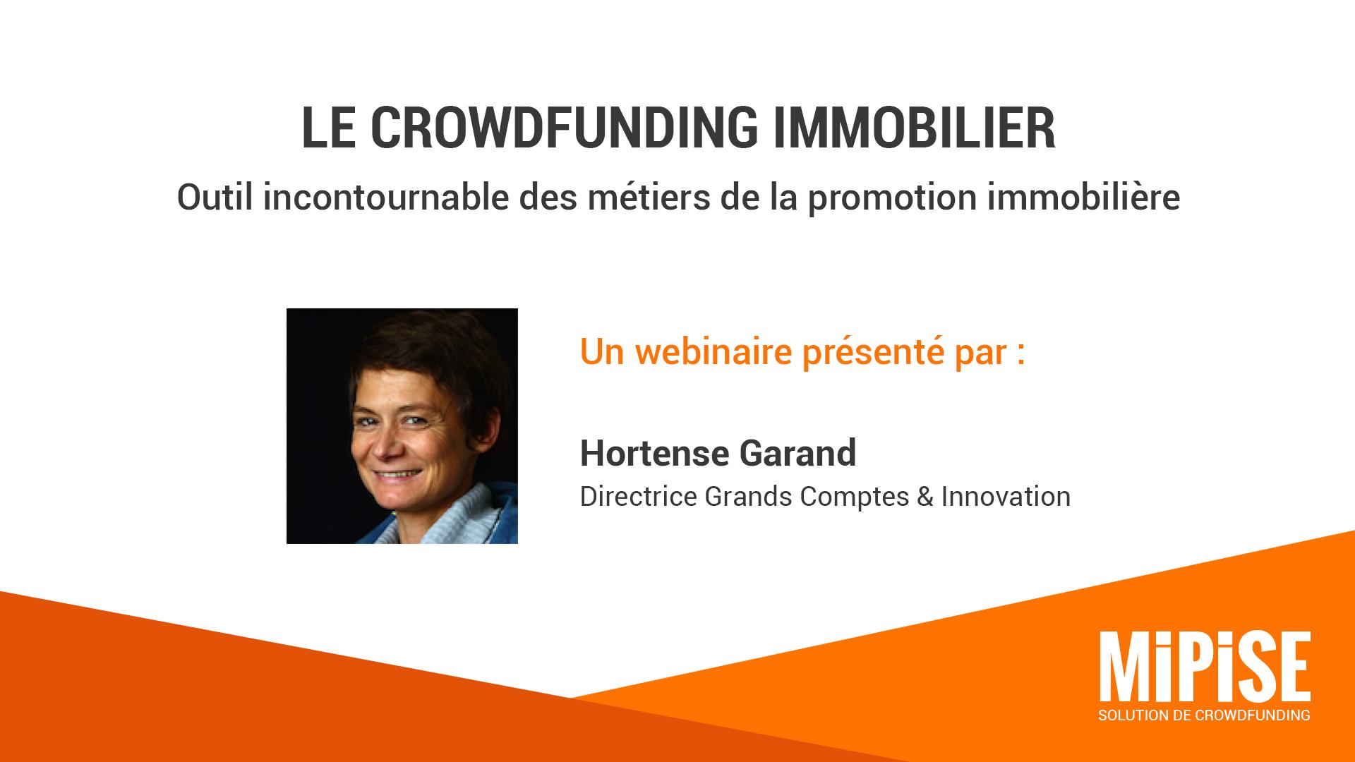 Le crowdfunding immobilier : outil incontournable de la promotion immobilière