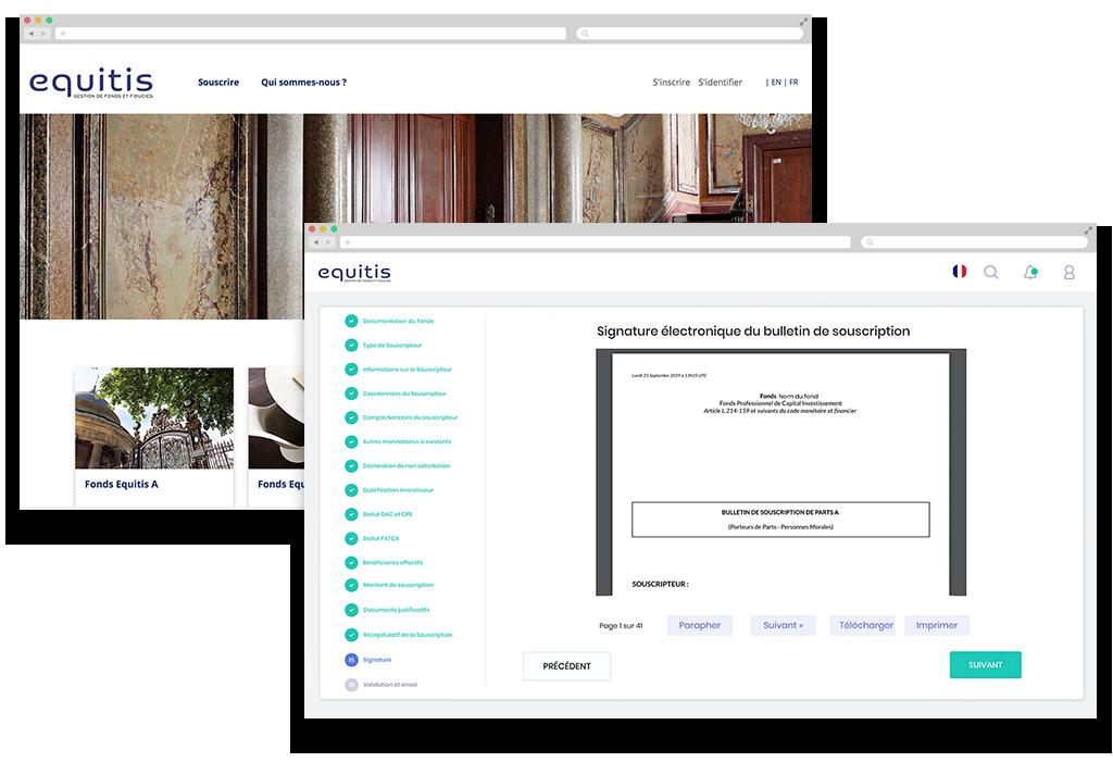 Digitaliser le workflow de souscription de fonds : entretien avec Élodie Cholat, Equitis