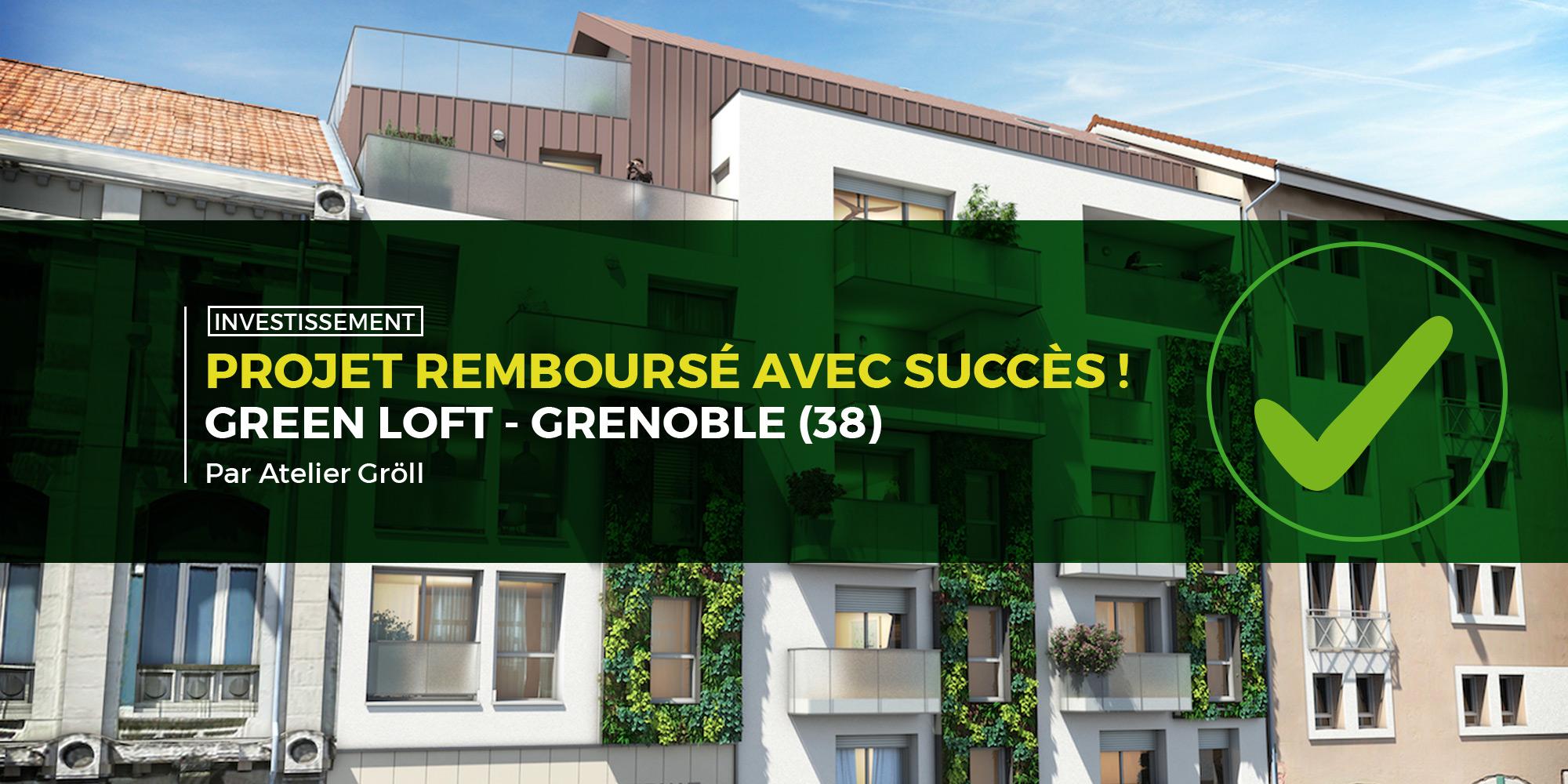 En septembre, Monego rembourse un 10e projet immobilier avec Green Loft !