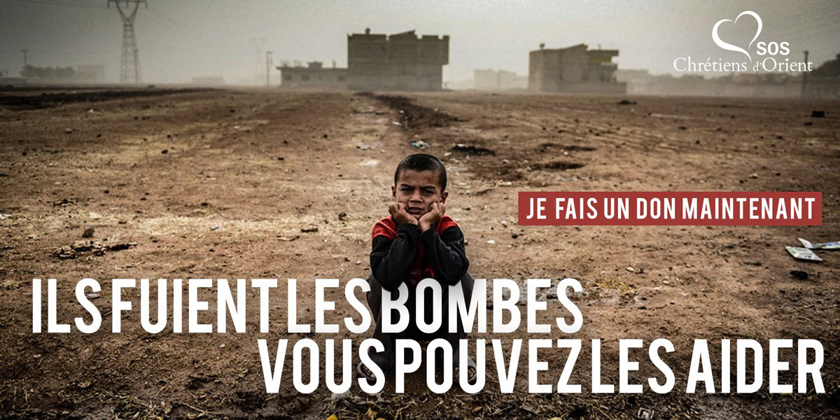 URGENCE SYRIE : ÉVITONS UNE CRISE HUMANITAIRE