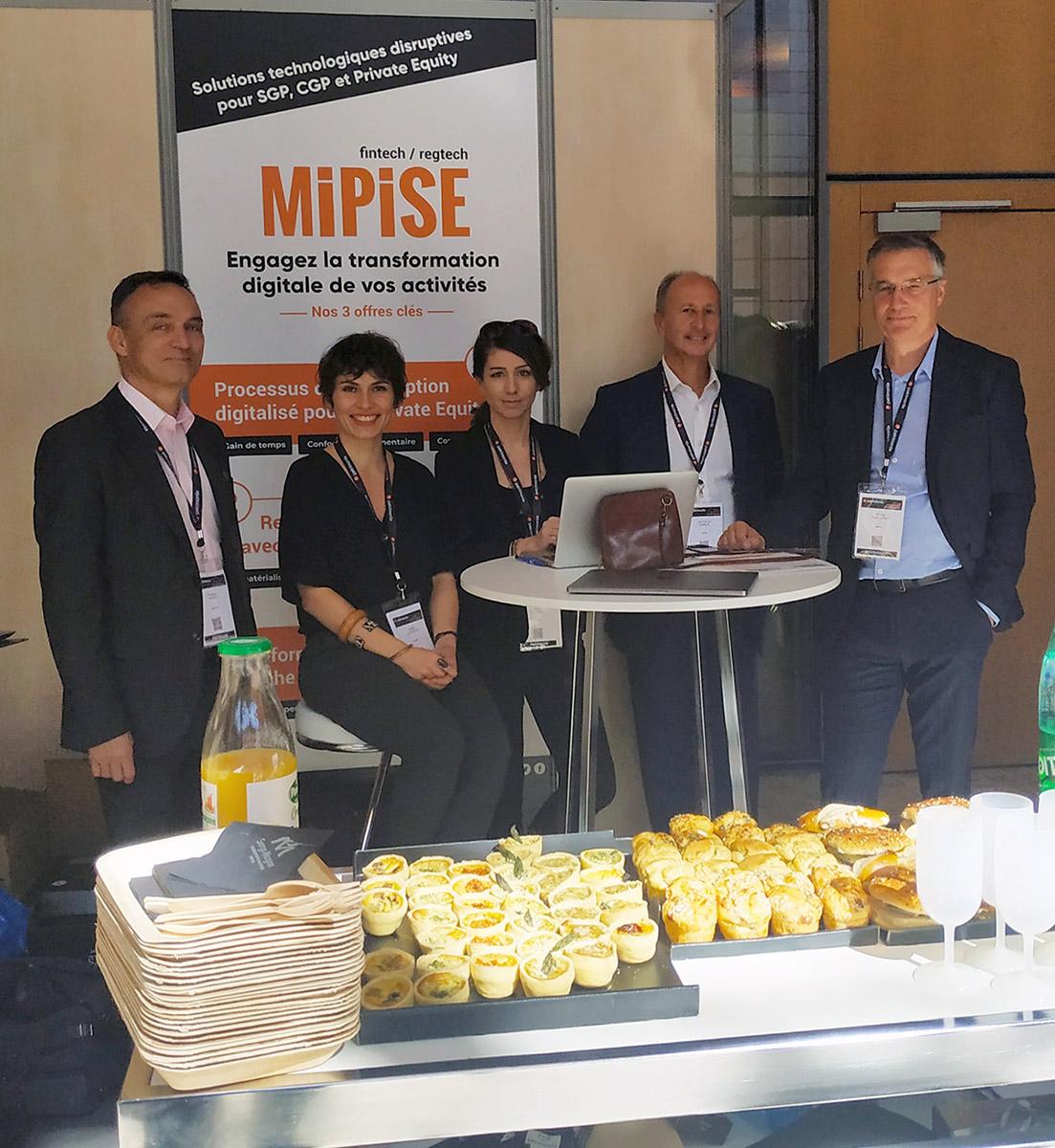 Patrimonia 2019 : MIPISE présente sa solution de workflow de souscription de fonds pour SGP et CGP