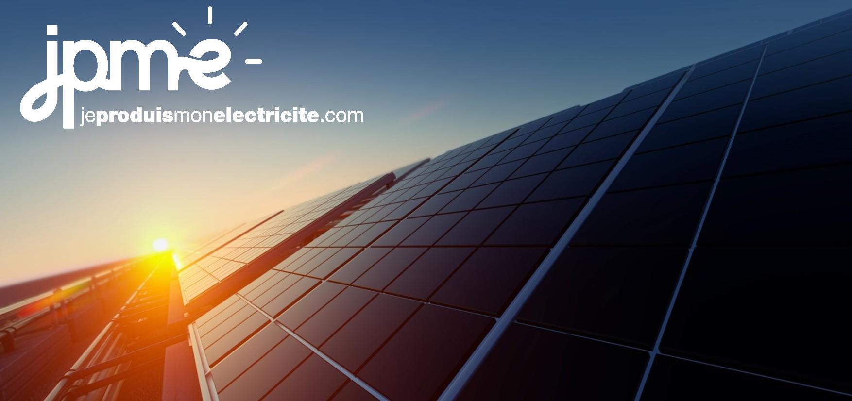JPME - Concepteur, installateur et opérateur de solutions d'autoproduction photovoltaïques pour les particuliers