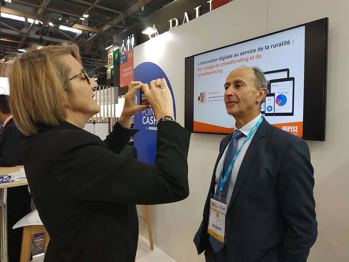 Salon des Maires 2019 : l'innovation numérique au service des territoires